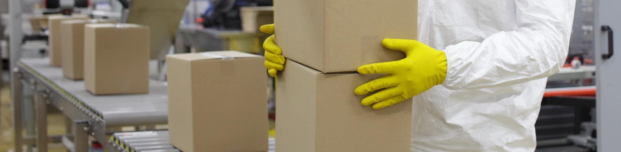 Punktudsugning til pakkelinjer og centralt støvsugeranlæg