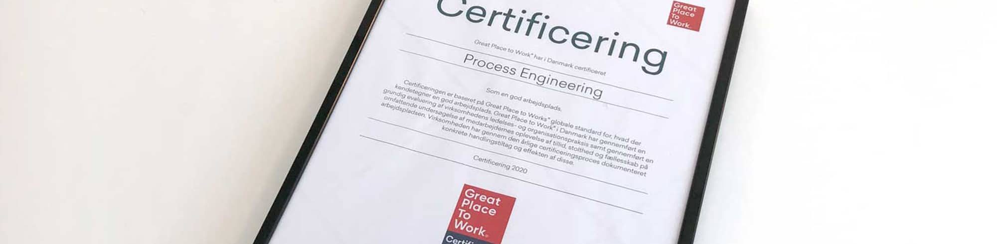 Great Place to Work®-certificeret